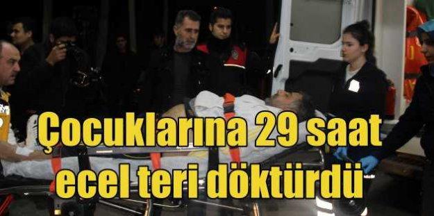 Şanlıurfa'da rehineler 29 saat sonra kurtarıldı