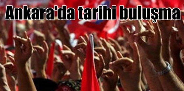 Ülkücüler yarın Ankara'da buluşuyor:Milliyetçiler Hayır diyecek
