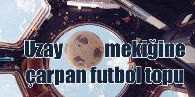 Uzayda futbol topu; Sosyal medyayı sallayan yalan