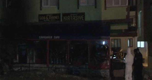 Çekmeköy'de kafede yangı, 1 kişi yanarak can verdi