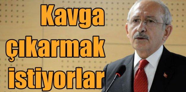 CHP lideri Kemal Kılıçdaroğlu Muhtarlarla Buluştu; kavga istiyorlar