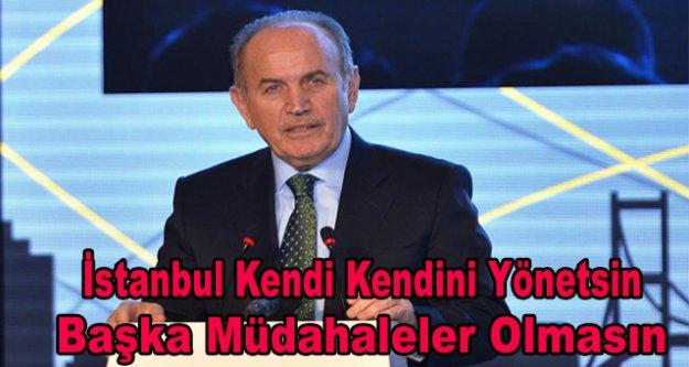 İstanbul kendi kendini yönetsin