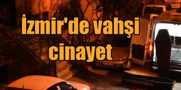 İzmir'de vahşi cinayet: Genç kadının cesedi naylona sarılmış bulundu