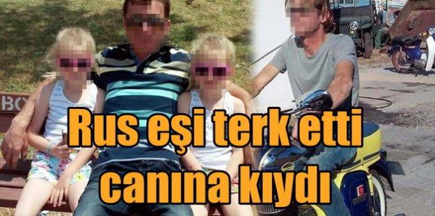 Rus eşi terk edince ölümü seçti