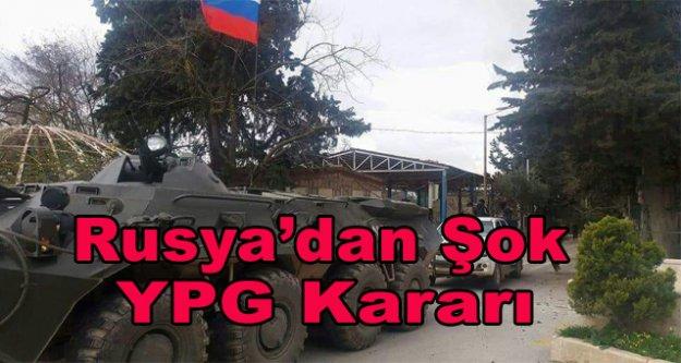 Rusya ile YPG ile anlaştı iddiası