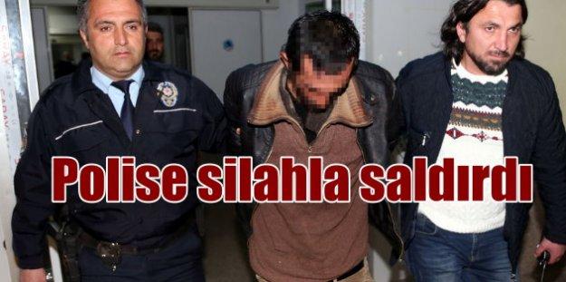 Samsun'da polise silahlı saldırı, 3 yaralı var