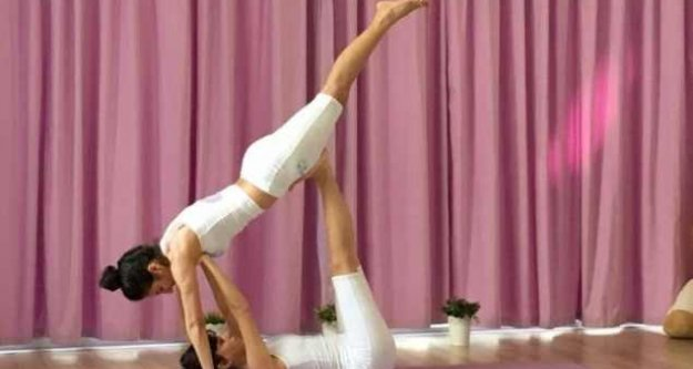 Yoga Koreografi turnuvasında nefes kesen yarışma