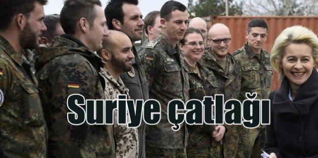 Almanya'dan Suriye operasyonu için sürpriz açıklama