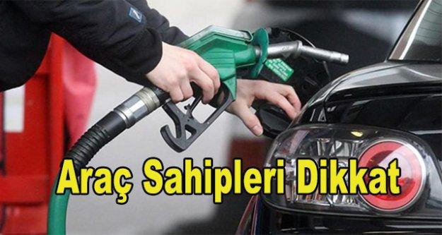 Benzine ve gazyağına zam