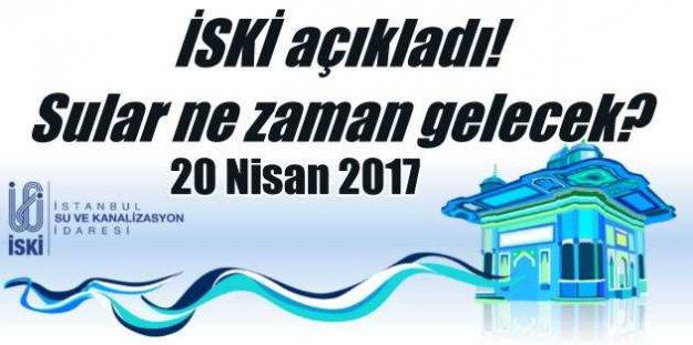 Beyoğlu ve Beşiktaş'ta sular ne zaman gelecek?