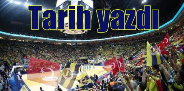 Fenerbahçe Basketbol'da tarih yazdı