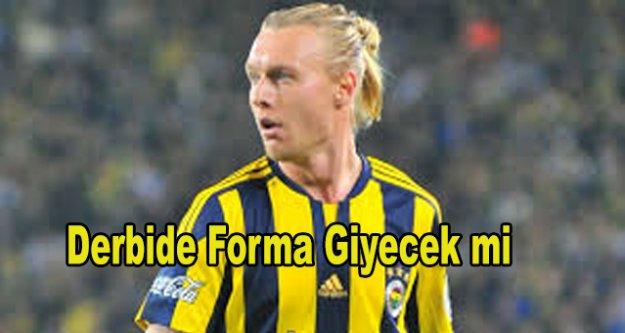 Fenerbahçe'ye Galatasaray maçı öncesi şok,
