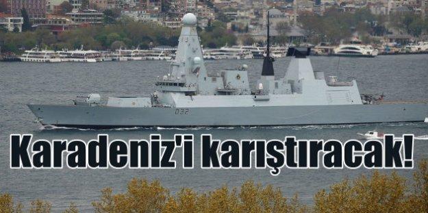 İngilizler, Karadeniz#039;de gerginliği tırmandırıyor