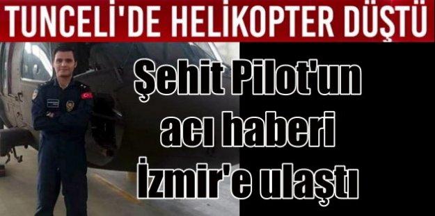 İzmir'e şehit ateşi düştü: İzmirli Pilot Tunceli'de şehit oldu