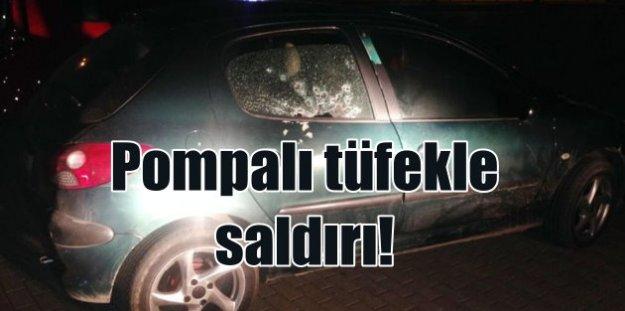Konya'da esrarengiz saldırı: Otomobile pompalı tüfekle ateş açıldı