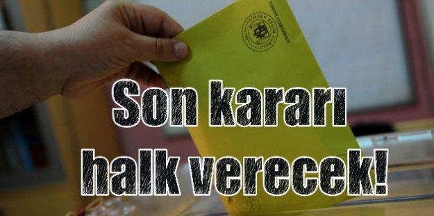 Oy verme işlemi başladı; Türkiye sandık başına koştu