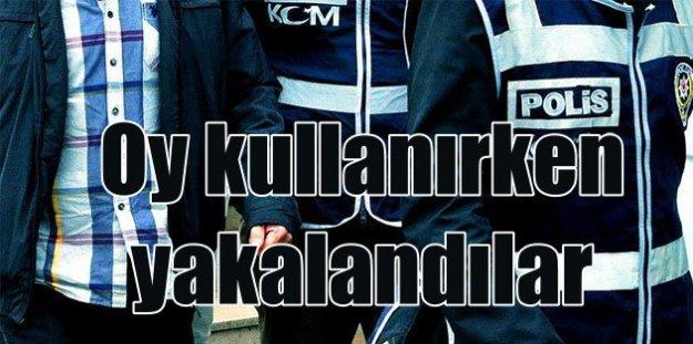 Polis, sandık başında pusu kurdu, 230 aranan şahıs yakalandı