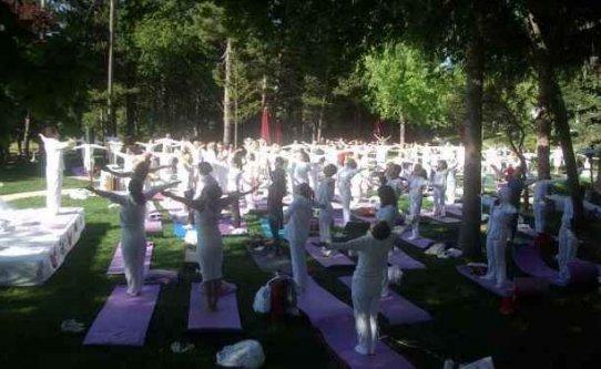 Şimdi doğa ile bütünleşme zamanı; Yoga Festivali Nisan'da Aban'ta