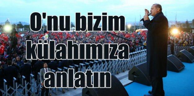 Son Dakika, Erdoğan; Tencere tava, hep aynı hava