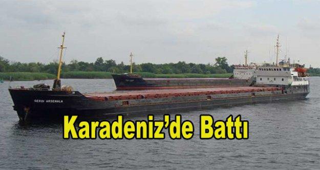 Türk gemisi battı