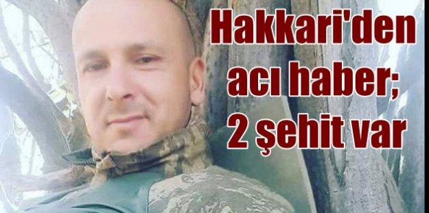 Yüksekova'da uçurumdan düşen binbaşı şehit oldu
