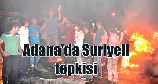 Adana#039;da Suruyeli gerginliği: Suriyeli istemeyen vatandaşları polis dağıttı
