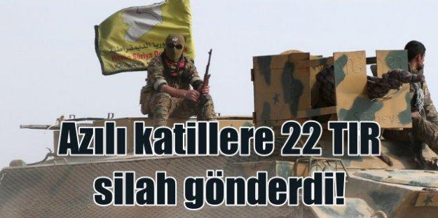 Amerika terör örgütü PKK'ya 22 TIR silah gönderdi