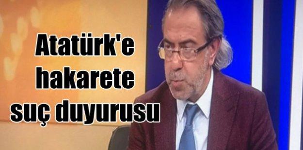 Atatürk'e hakaret eden TVnet için suç duyurus