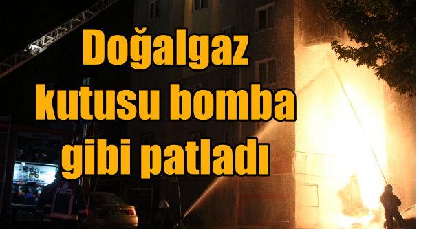 Bağcılar'da doğalgaz patlaması, facianın eşiğinden dönüldü