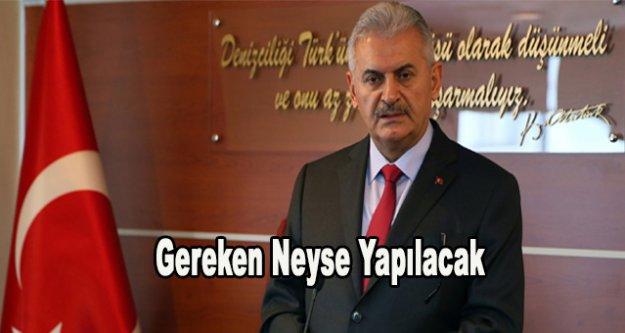 Başbakan Yıldırım'dan Atatürk'e hakaret tepkisi