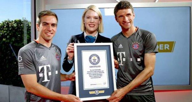 Bayern Munih Guinness Rekorlar kitabında