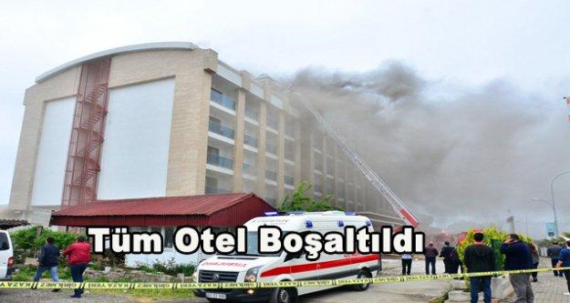 Beş yıldızlı otelde yangın