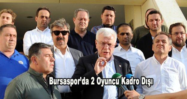 Beşiktaş maçı öncesi Bursaspor'da önemli gelişme