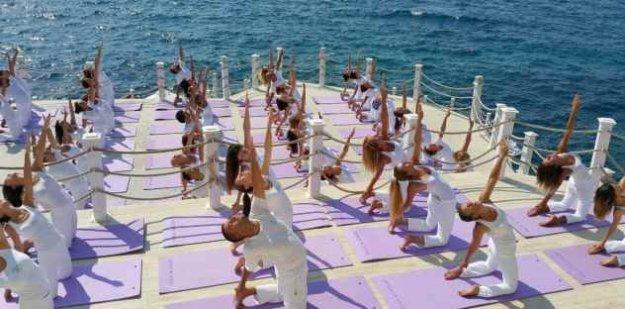 Büyük Yoga Festivali Antalya'da 19 Mayıs'ta başlıyor
