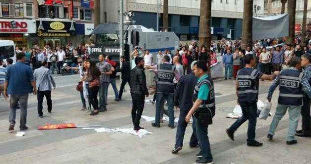 Denizli'de Deniz Gezmiş eylemine 34 gözaltı