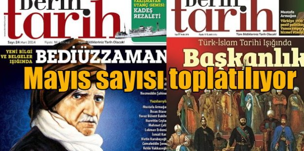 Derin Tarih Dergisi toplatılıyor; İhbar polisten geldi