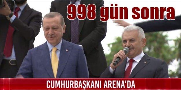 Erdoğan 998 gün sonra yeniden Genel Başkan; Nerede kalmıştık