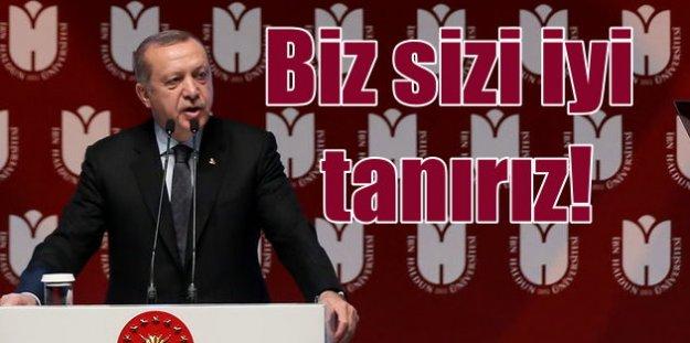 Erdoğan: Bu ülke aşağılık kompleksinden çok çekti