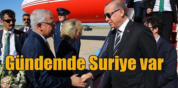 Erdoğan, Trump'tan YPG'ye silah sevkinin durmasını isteyecek