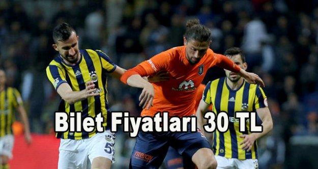 Fenerbahçe maç bilet fiyatlarını 30 TL yaptı