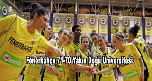 Fenerbahçe seride durumu 2-1 yaptı
