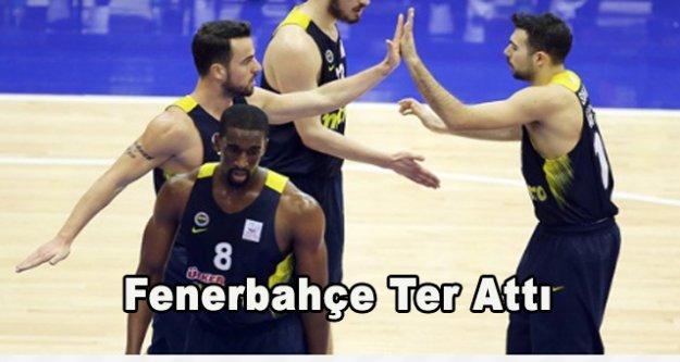 Fenerbahçe fark attı,101-55