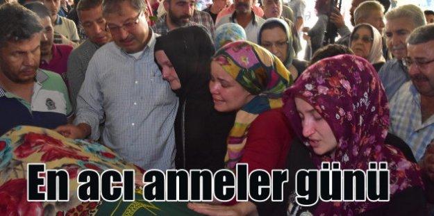 İzmir'de en acı anneler günü; Oğlum sana gitme dedim