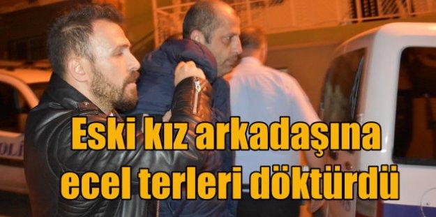 İzmir'de pompalı tüfekle kadını rehin alan adam yakalandı