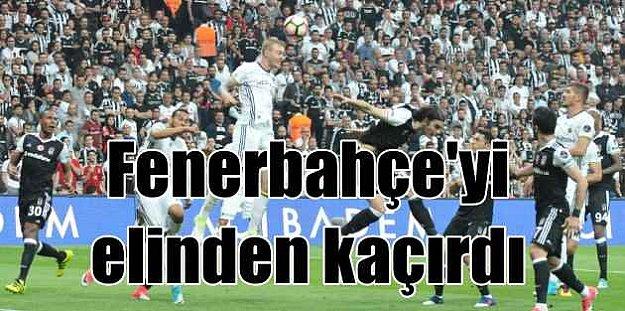 Kartal, Arena'da Fenerbahçe'yi elinden kaçırdı. 1-1