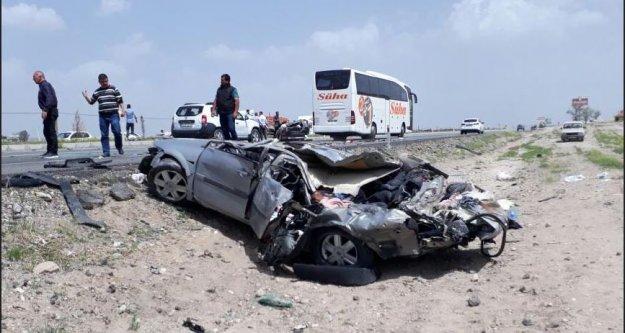 Kayseri'de feci kaza, 3 ölü 1 yaralı var