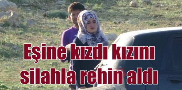 Konya'da kızını rehin alan adam teslim oldu