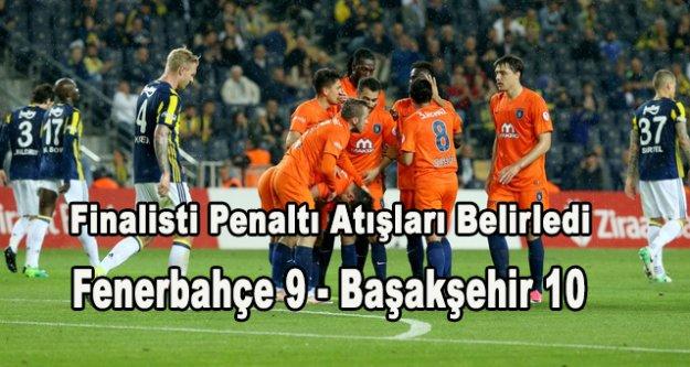 Müthiş gol düellosu sonucu Başakşehir finalde