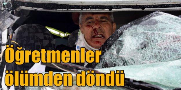 Niğdeli öğretmenler, Konya'da ölümden döndü; 11 yaralı var