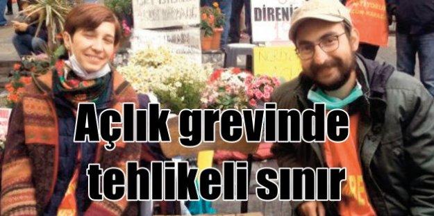 Nuriye Gülmen ve Semih Özakça'nın açlık grevinde ölüm tehlikesi